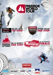 Freeride World Tour 2009 - 7sky Magazine