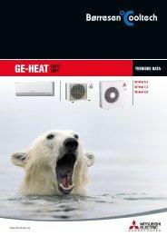 GE-Heat produktark - Børresen Cooltech AS