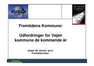 Vejen Kommune i fremtiden - Fremtidsforskeren Jesper Bo Jensen
