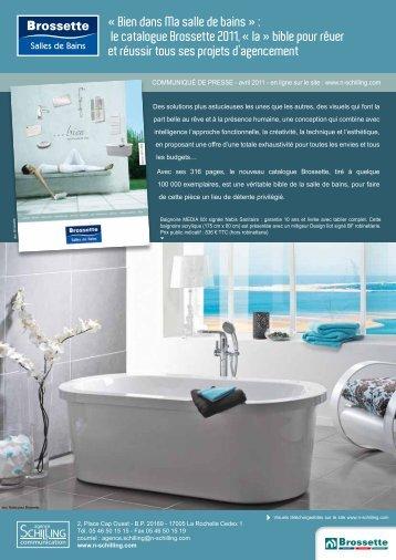 « Bien dans Ma salle de bains » : le catalogue Brossette 2011, « la ...