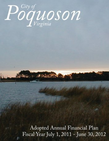 FY 2012 Adopted Budget - City of Poquoson