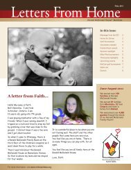Fall 2011 Newsletter - Ronald McDonald House