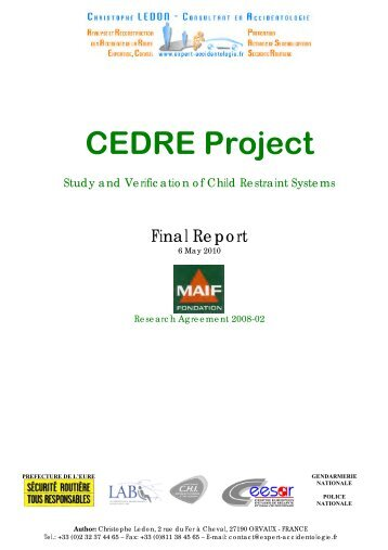 Final Report - Projet CEDRE