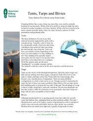 a printer-friendly PDF - American Hiking Society