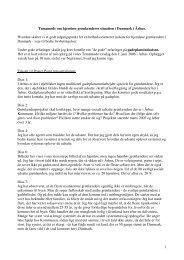 1 Temamøde om hjemløse grønlænderes situation i Danmark i ...
