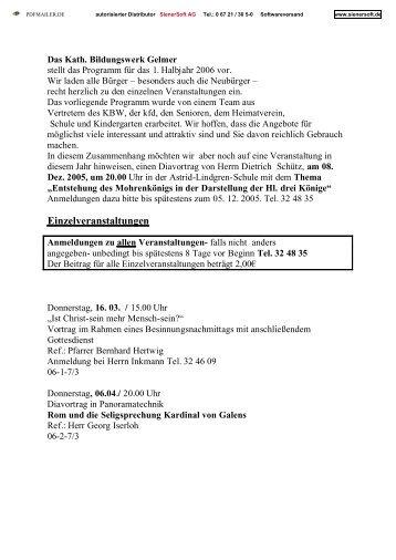 Download des aktuellen Programms als PDF-Datei - Gelmer