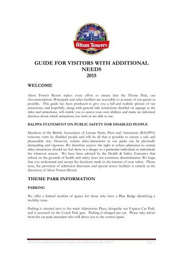 guide-for-visitors-with-additional-needs-2015-v1