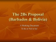 The Proposals - Knowledge Ecology International