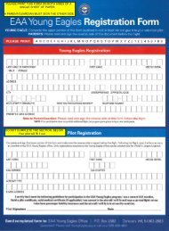 Young Eagles Registration Form - EAA Chapter 64