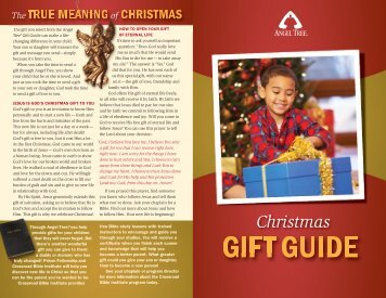 AT Gift Guide 2009 - Prison Fellowship