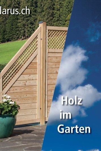 Holz im Garten DE