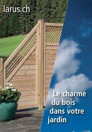 Le charme du bois dans votre jardin FR