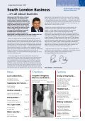 Issue 5 - Sept/Oct2007 - South London Business - Page 3