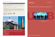 MA New Migration and Social Policy Course Brochure (PDF)