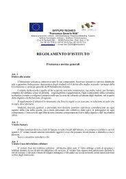 Regolamento di Istituto - Nitti