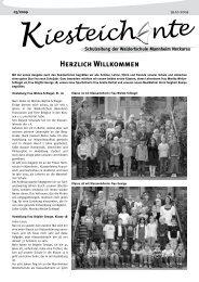 Kiesteich nte - Freie Waldorfschule Mannheim