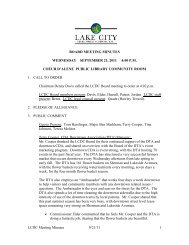 LCDC Meeting Minutes 9/21/11 1 BOARD MEETING MINUTES ...