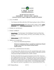 LCDC Meeting Minutes 8/17/11 1 BOARD MEETING MINUTES ...