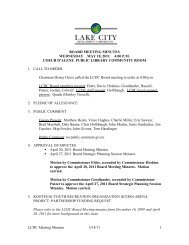 LCDC Meeting Minutes 5/18/11 1 BOARD MEETING MINUTES ...