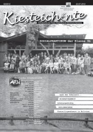 Kiesteich nte Kiesteich nte - Freie Waldorfschule Mannheim