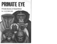 2000 Vol 72.pdf (5.02mb) - Primate Society of Great Britain