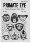 1993 Vol 50.pdf - Primate Society of Great Britain