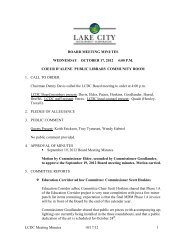 LCDC Meeting Minutes 10/17/12 1 BOARD MEETING MINUTES ...