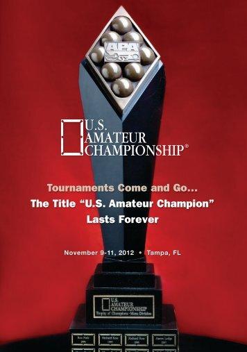 X - The US Amateur Championship