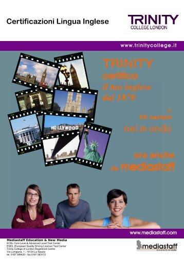scarica la brochure stampabile - Mediastaff Education & New Media