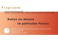 Tagungsprogramm - beim DPWV-Arbeitskreis