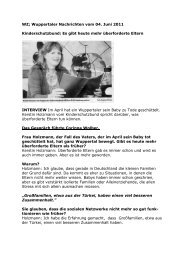 WZ; Wuppertaler Nachrichten vom 04 - Kinderschutzbund Wuppertal