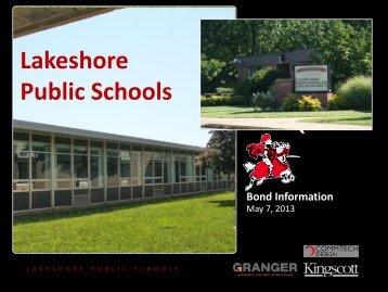 ballot proposal 1 - Lakeshore Public Schools