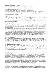 Protokoll AstA Treffen 30.11.2011 Anwesend: Sinje ... - KeinDrama
