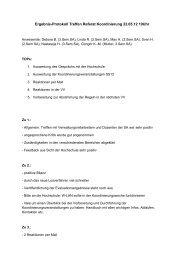 Ergebnis-Protokoll Treffen Referat Koordinierung ... - KeinDrama