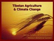 Tibetan Agriculture & Climate Change - Platform for Agrobiodiversity ...