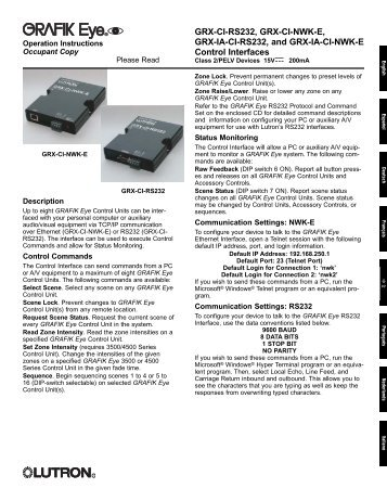 grx ci rs232 grx ci nwk e grx ia ci lutron electronics?quality=85 grx tvi ten volt interface lutron lutron grx tvi wiring diagram at alyssarenee.co