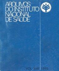 Vol. 18 1993 - Repositório Científico do Instituto Nacional de Saúde