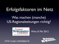 Was machen (manche) US-Regionalzeitungen richtig? - Newsroom.de