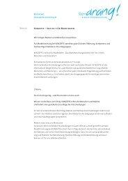 Konzeption und Text als PDF zum Download - Agentur Tatendrang
