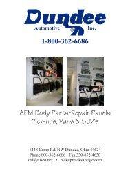 1-800-362-6686 Automotive Inc. - Pickup Truck Salvage