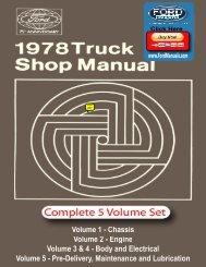 DEMO - 1978 Ford Truck Shop Manual - FordManuals.com