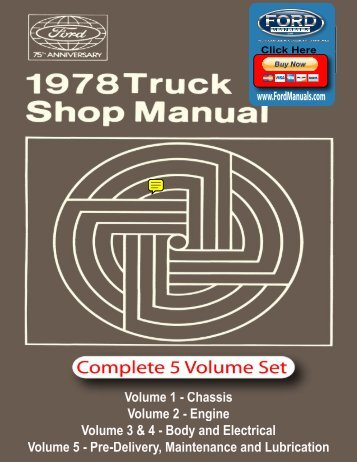 DEMO - 1978 Ford Truck Shop Manual - FordManuals.com