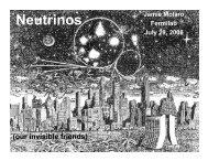 Neutrinos - LArTPC DocDB - Fermilab
