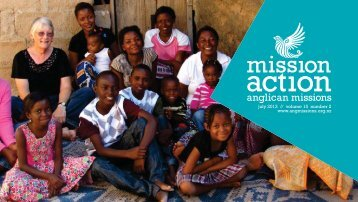 july 2013 // volume 15 number 2 www.angmissions.org.nz - Anglican ...