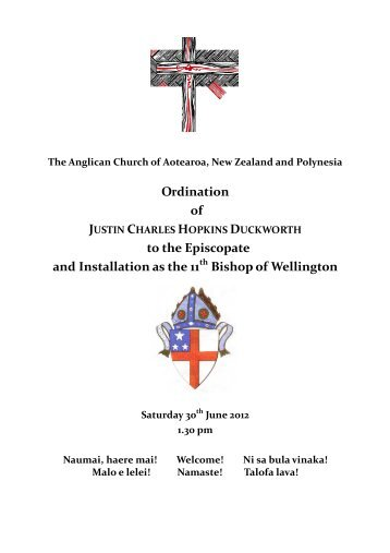 Service Draft #14 FN - Anglican Diocese of Wellington