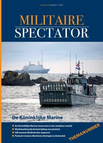 Militaire Spectator 11-2013