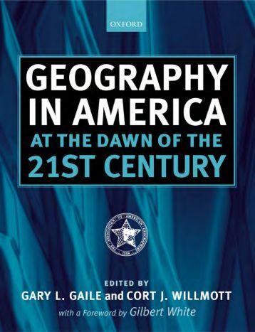 Geography di Amerika