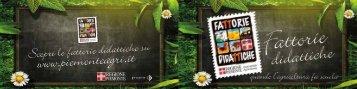Fattoria Didattica - Piemonte Agri