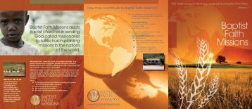 download PDF - Baptist Faith Missions