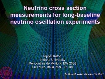 neutrino oscillation experiments